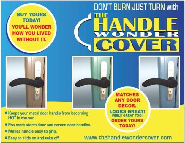 Door Handle-Tired of Hot Door Handles?