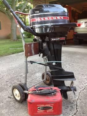 1969 mercury outboard motor 9 8 hp mint condition for for Cabela s outboard motors for sale