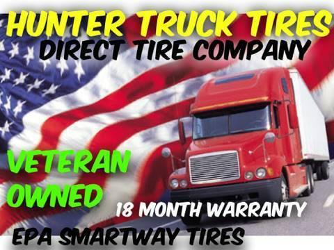 Grow your Trucking Business with hunter Commercial Tires !!!