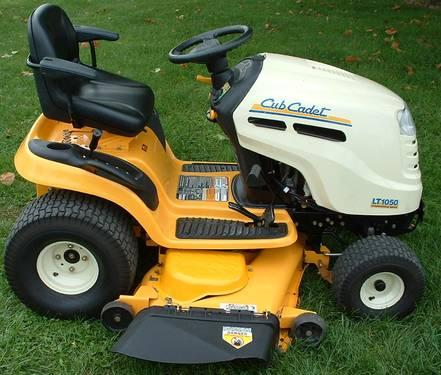 CUB CADET RIDING MOWER, 50