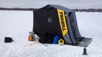 Frabill Guardian Ice Shelter for Sale in Spring Grove, Illinois