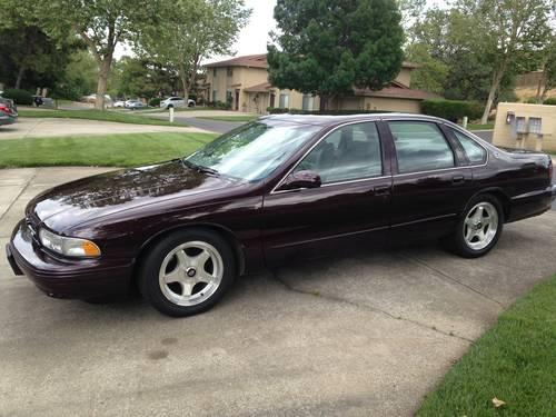 1996 classic chevy impala ss for sale in redding california classified. Black Bedroom Furniture Sets. Home Design Ideas