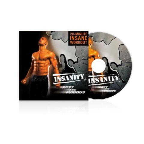 INSANITY Fast and Furious Abs and INSANITY Fast and Furious SAVING 30$