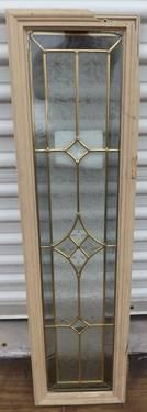 2 Stained Stain Glass Framed Inserts Energy Star Rated Doorlight