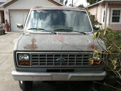 1989 FORD E350 IST Surveillance Van