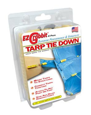 Tarp Tie Down ? Keep it Dry ? Professionally!