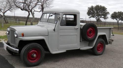 ANTIQUE 1950 WILLYS JEEP PICKUP 4WD