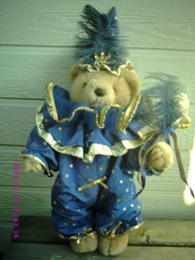~~ BEARLY PEOPLE COLLECTIBLE JESTER BEAR -14
