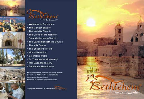 Bethlehem The Birthplace of Jesus Christ Poster