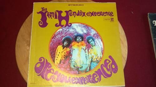 Jimi Hendrix - Crash Landing Vinyl Record(1975)