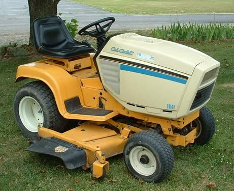 CUB CADET YARD TRACTOR RIDING LAWN MOWER/ FULLY HYDRAULIC
