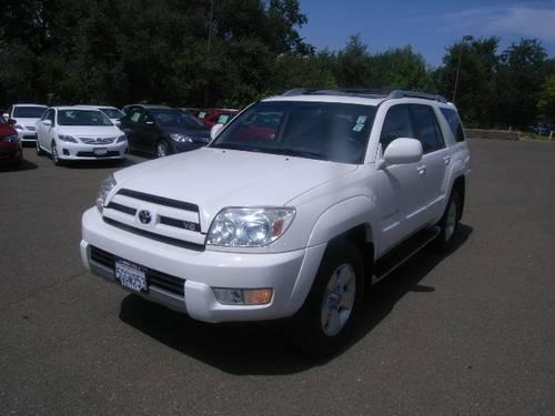 2004 toyota 4runner 4x4 limited v8 limited v8 for sale in redding california classified. Black Bedroom Furniture Sets. Home Design Ideas