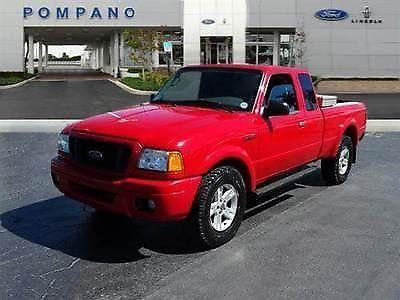2009 Pickup truck Used V8 5.4 Liter 6-Spd Automatic 2WD Leather Red