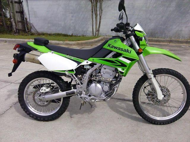 2009 Kawasaki KLX 250-S Dual Sport, Looks and Rides Like New