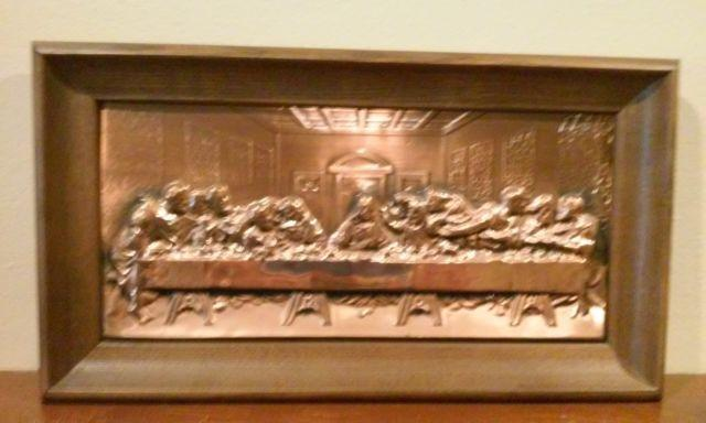 Copper Engraving of Lord's Supper