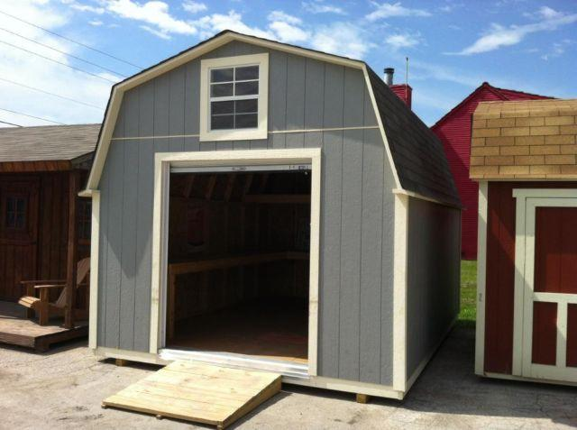 STORAGE BUILDINGS BUILT ON YOUR LOT! VARIETY OF SYTLES