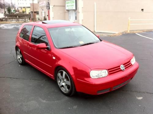 2002 Volkswagen Golf GTI Leather Low Miles One Owner