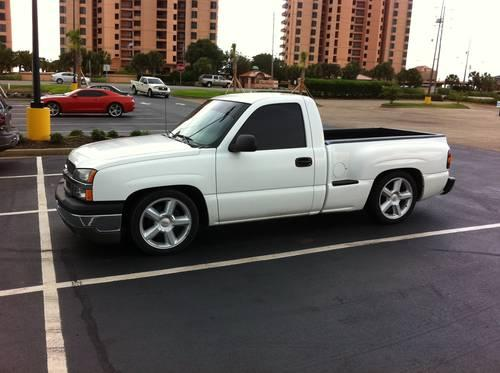 2005 chevrolet silverado 1500 lowered regular cab stepside. Black Bedroom Furniture Sets. Home Design Ideas