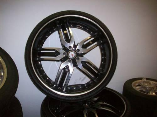 4 24 inch rims tiers 5 lugs for dodge car f 5 wheels. Black Bedroom Furniture Sets. Home Design Ideas