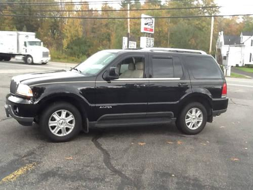 2004 Lincoln Aviator Sport Utility Luxury 3rd row & NAV