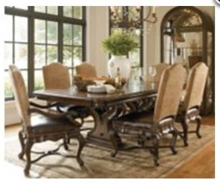 Thomasville Hills Of Tuscany Luxury Dining Room Set For Sale In San Antonio
