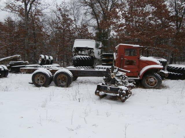 Military / Army 6x6 5 ton M723 tandem axle dump truck