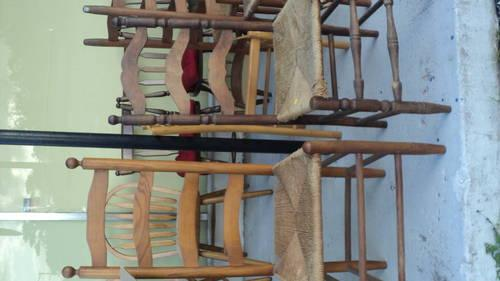 library stool, tredal sewing machines and more