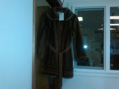 Vintage Faux Fur Jacket Made In England