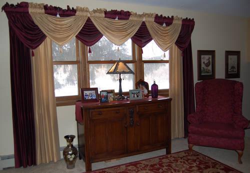Beautiful custom mades drapes