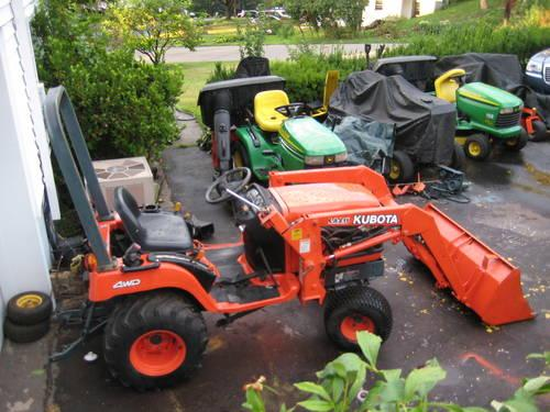 Kubota Bx1800 Compact Tractor 4x4 Hydro Loader 540 Mid