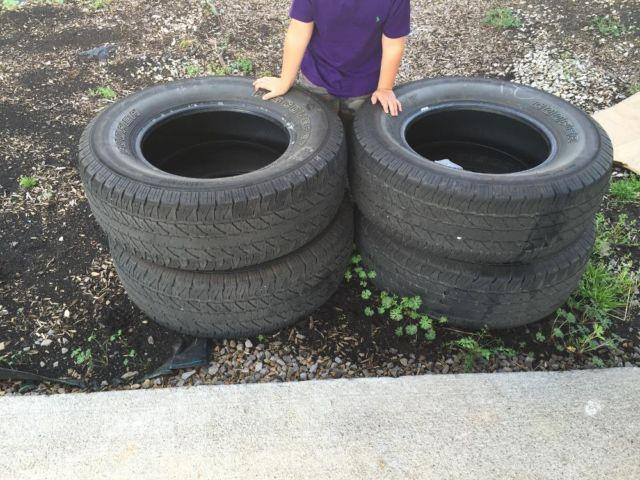 Used Cooper tires(only 16,000 miles on them)