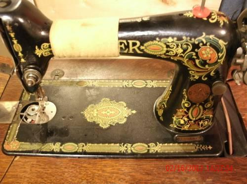 Pre40 Singer Sewing Machine Model 40 Red Eye Treadle For Sale Fascinating White Sewing Machine Model 1265