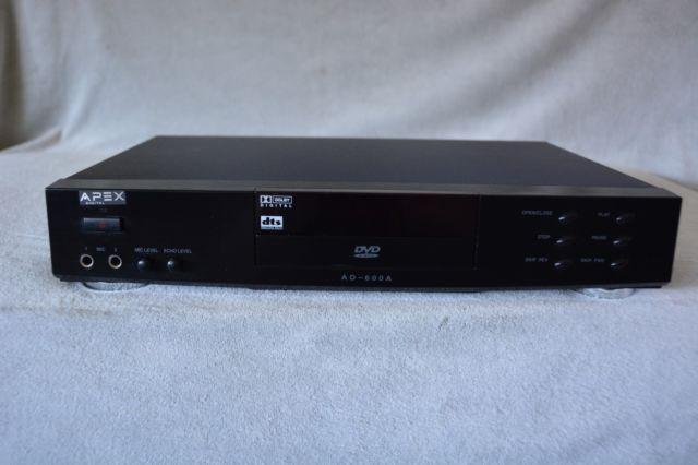 APEX DVD CD RECORDER PLAYER MODEL AD600A ~ WORKS GREAT