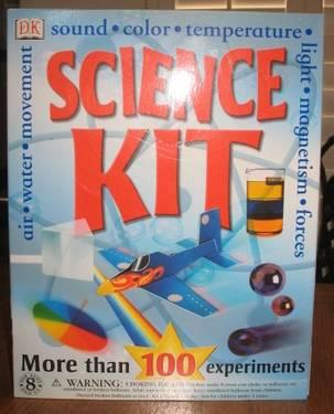 Science Kit (DK) - More than 100 experiments