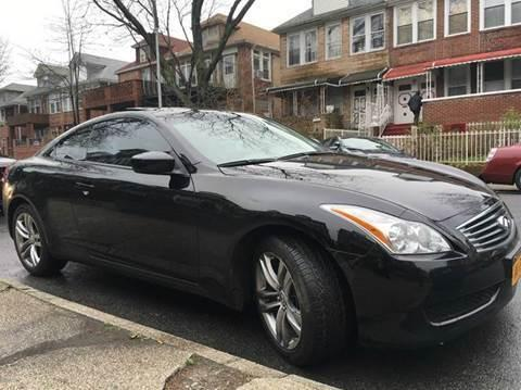 2009 Infiniti G37X Coupe - The Most Reliable Member of Your Family.