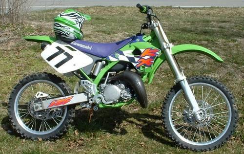 Nice Kawasaki Kx 125 Motocross Dirtbike Fast Bike For Sale In