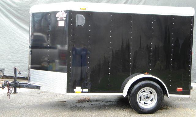2007 Cargo Mate Motorcycle Trailer