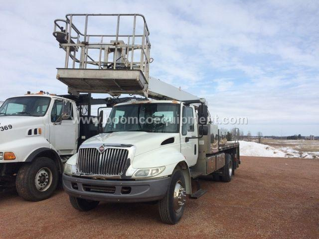 Manitex SC62 Sign Truck for sale mounted on 2005 International ?B39268