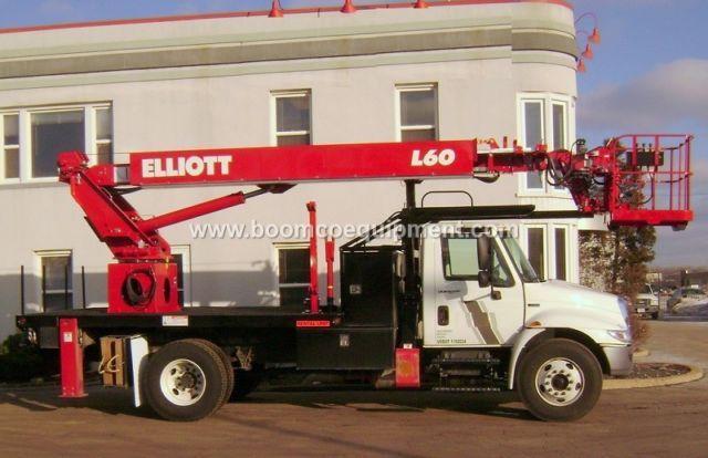 Elliott L60 Sign Truck for sale mounted on 2014 International ? B25416
