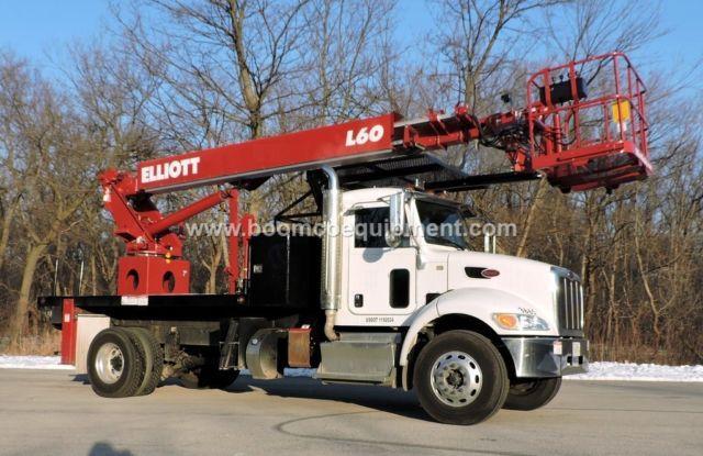 Elliott L60 Sign Truck for sale mounted on 2014 Peterbilt ? B52416