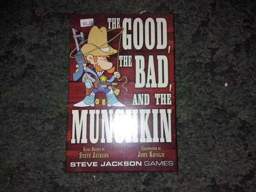 The good the bad and the munchkin Card Game BRAND NEW!!