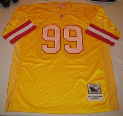 MITCHELL AND NESS THROWBACKS NFL BUCCANEERS SAPP JERSEY