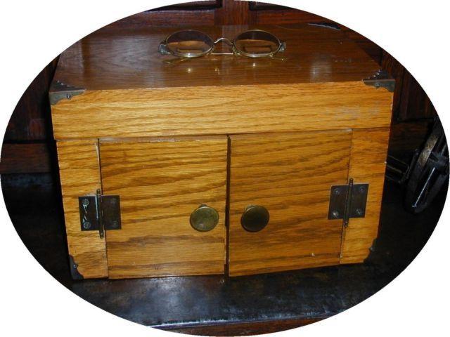 1950 white oak desk