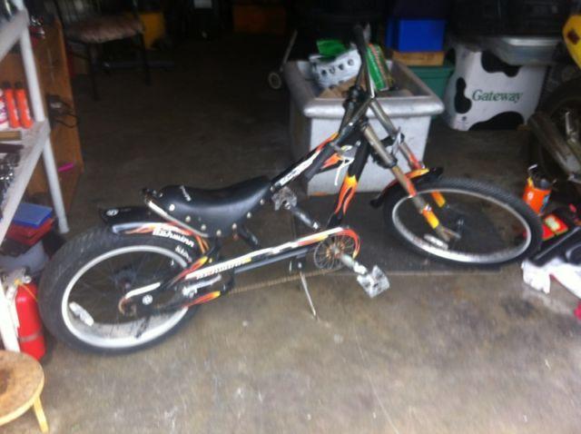 SCHWINN STINGRAY ORANGE COUNTY OCC CHOPPER BICYCLE