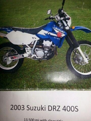Very nice Suzuki-On / Off Road motorcycle 2003