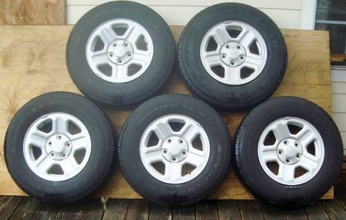 Tires and rims 2 months old from Kia Sephia 185/65R14