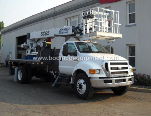 Manitex SC-62 Skycrane for sale mounted on 2015 Ford ? B54261