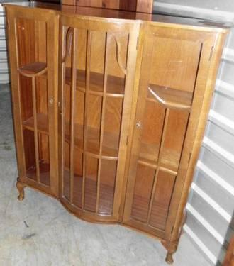 Bookcase curio cabinet or china cabinet for sale in for Furniture 77429