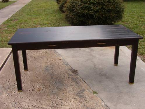 Vintage Work Table Or Kitchen Island For Sale In Deltona