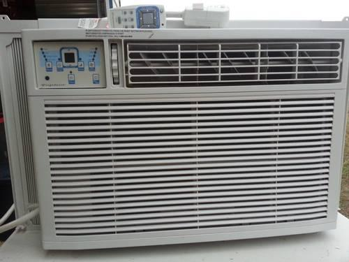 frigidaire ac and heater window unit or through wall
